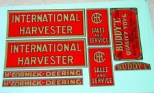 Buddy L Red Baby International Truck Stickers    BL-112