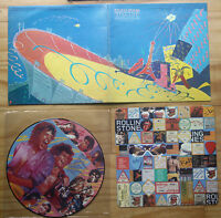 EX/EX THE ROLLING STONES STILL LIFE US TOUR LIVE 1981 VINYL LP PICTURE PIC DISC