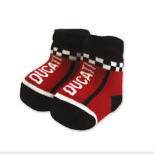 Ducati Speed Baby calcetines o patucos calcetines socks rojo negro nuevo 2018
