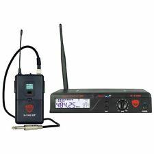 Nady U-1100 GT 100 Channel UHF Wireless Guitar/Instrument System Band FAST SHIP!