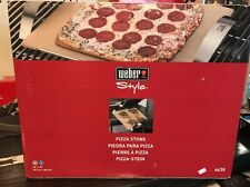 WEBER Style Grill Accessories -  Pizza Stone 6430