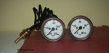 Willys MB Jeep Ford GPW CJ Temperature Oil Pressure Gauge