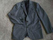 New J crew Men Crosby suit jacket  Italian wool flannel  Gray 40R