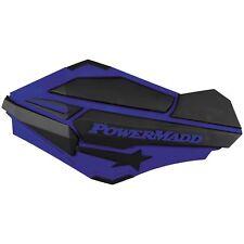 Powermadd Sentinel Handguards & Snowmobile Mount Kit Blue/Black, Yamaha blue