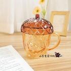 New 2021 China Starbucks Autumn Forest Acorn Shaped 14oz Glass Mug