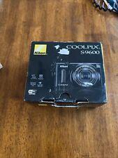 Nikon COOLPIX S9600 16.0MP Digital Camera - Black (New)