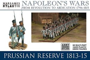 WARGAMES ATLANTIC ~ NAPOLEONIC ~  PRUSSIAN RESERVE 1813 - 15