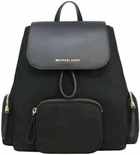 Michael Kors Abbey Solid Cargo Backpack - Black