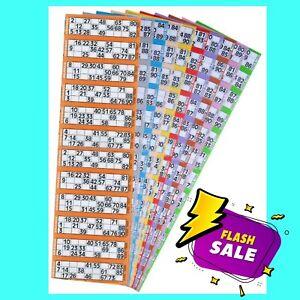 60000 Bingo Tickets 12 to View Flyers Singles Quickies Standard Bingo Tickets