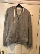 Genuine Men's Jack Wills Hoody Grey Very Good Condition Size S Thick Cotton