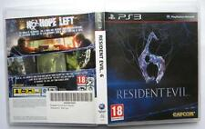 RESIDENT EVIL 6 PS3 PAL UK EDITION