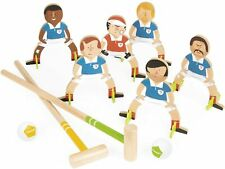 Janod Football Champions. Children's Wooden Croquet Set ( freestanding )