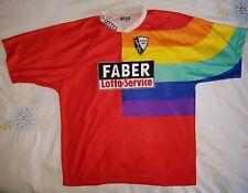 Vfl Bochum vintage football shirt trikot jersey 1997-98 XXL adult FABER Rainbow