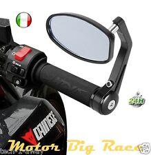 Specchietti Moto Retrovisori contrappesi bar end Per Ducati Aprilia M153