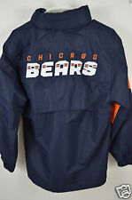 NWOT Chicago Bears Womens Onfield Reebok NFL Large 14/16 Pullover Hooded Jacket