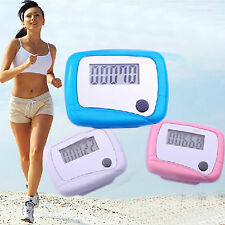 NT 1pc Useful Lcd Pedometer Step Walking Distance Counter Jogging Running