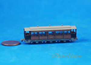 Locomotive Train Z Scale 1:220 Wagon Restaurant Dinning Car Model K1256 C
