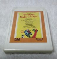 FIDDLER ON THE ROOF Musical Soundtrack Zero Mostel 8 Track Tested O8S-1005