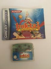 Boktai The Sun Is In Your Hand - GBA Game Boy Advance