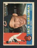 1960 Topps #112 Jack Harshman EX/EX+ Indians 44842