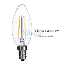 5PC E14 2W Retro Vintage Filament Bulb Candle Light Lamp Ornament Energy Saving