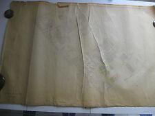 ROMA Mappa Catastale 898 TUSCOLANA APPIA VIA ALBA SALUZZO  PONTE LUNGO 1943 c.