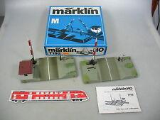 AM117-1# Märklin H0/AC Paso a nivel 7192 sin Vías/ con caja orig.