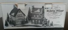 Department 56 Dickens Village Starter Set - Faversham Lamps, Morston's, Carolors