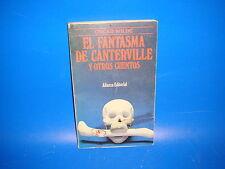 Libro Oscar Wilde. El Fantasma de Canterville y Otros Cuentos