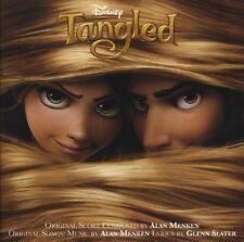TANGLED WALT DISNEY ORIGINAL FILM SOUNDTRACK CD MANDY MOORE / ALAN MENKEN