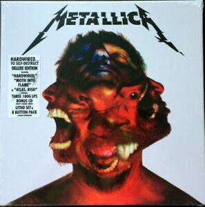 Metallica  Hardwired...To Self-Destruct 2016  Deluxe 3 x 180g Vinyl + CD  NEW