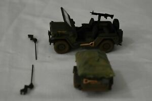 "Corgi US50101 Jeep and Trailer ""Mutt"" Utility Truck  USMC 1/43"