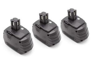 3x Batterie 1500mAh pour Hilti SFB180, SFB185