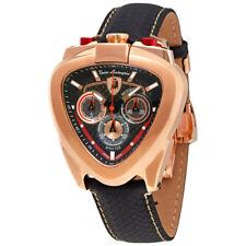 Lamborghini Spyder Black Dial Mens Chronograph Watch 12H-8