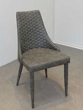Schalenstuhl Vicky 2er Set Stuhl grau ergonomisch geformt Stuhlset Vierfußstuhl
