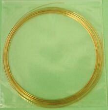 10ft 14k Gf 26 gauge 4mm round beading wire Dead Soft craft wrapping W26Ds