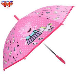 Peppa Pig Umbrella ,Kids Umbrella ,Officially Licensed