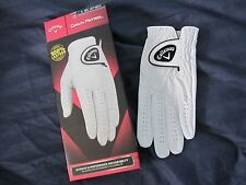 1 Callaway Dawn Patrol Leather Golf Glove Size Small New Mens