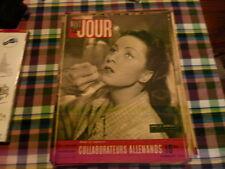 magazine hebdomadaire NUIT ET JOUR  n° 55 janvier 1946 collaborateurs allemands