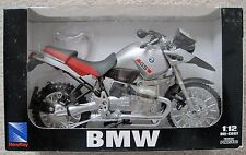 NEW NEW-RAY BMW R1150GS MOTORCYCLE - 1:12  DIE CAST #53747