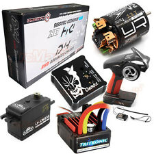 3Racing Sakura D4 Awd Bk Edtion Drift Car Kit Servo Esc Gyro Motor Radio #Cb1169