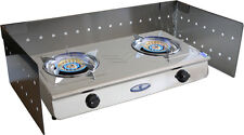 Foldable Wind Shield for Double Gas Cooker