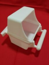 6 pcs white for food water cage