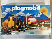 1995 Playmobil set# 4024 RC Vulcano Diesel Train, complete, excellent condition!