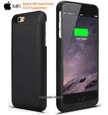 Portable Heavy Duty Backup External Battery Charger Case for Apple iPhone 6S / 6