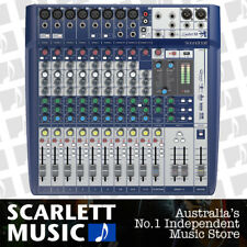 Soundcraft Signature 12 Mixing desk 12 Input w/ USB & Lexicon Effects Mixer