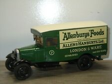"Ford Model A Van ""Allenburys Foods"" - Motorkits England 1:43? *40637"