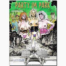 Party im Park Erotik Comic Ewachsene Jacobsen BDSM THRILLER PULP PinUp BONDAGE