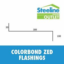 Colorbond Zed Flashings - Per Meter