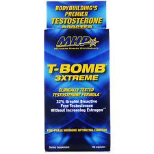 MHP T-Bomb 3Xtreme University Tested Testosterone Formula 168 Capsules
